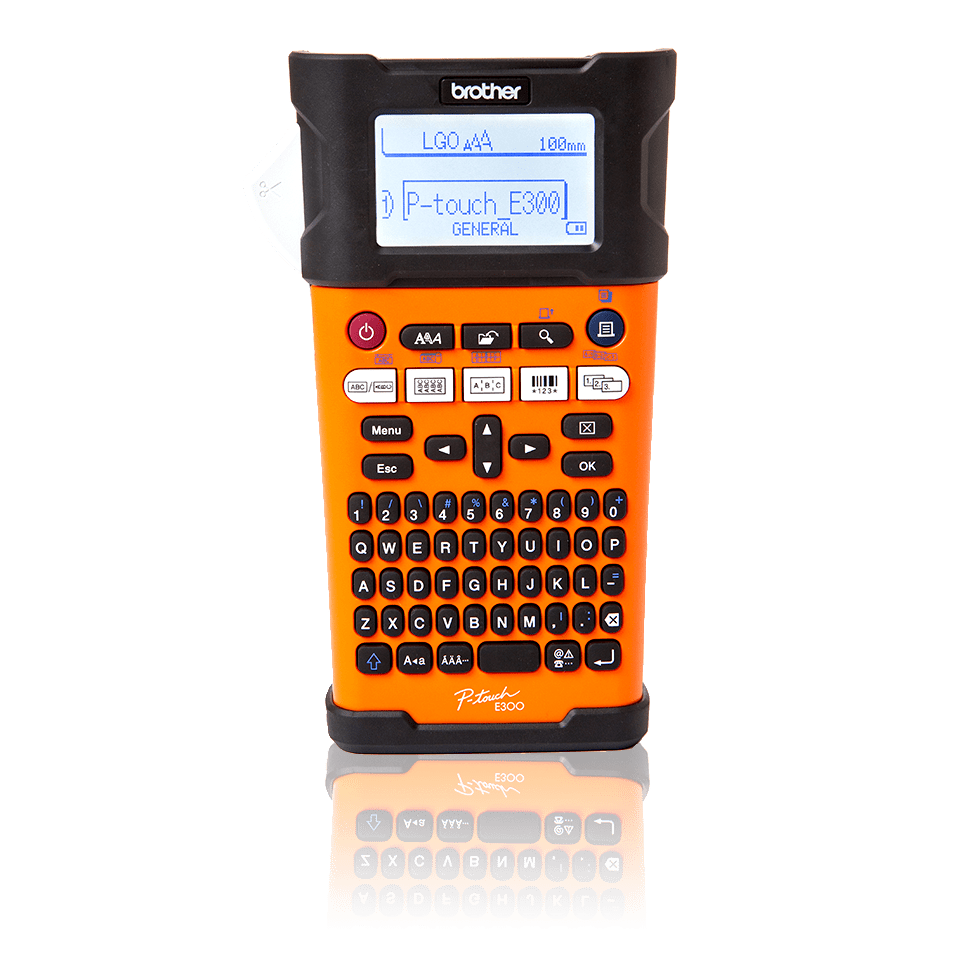 brother p touch pt h105 instructions