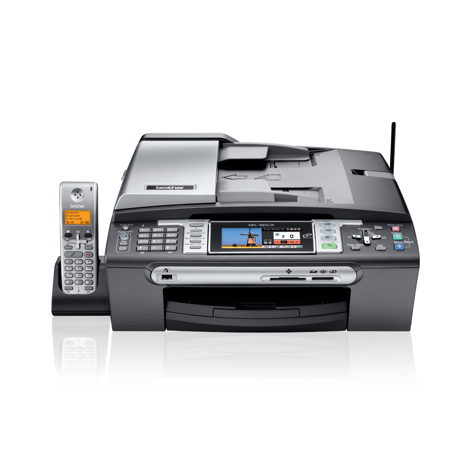 DRIVER: BROTHER MFC-885CW PRINT