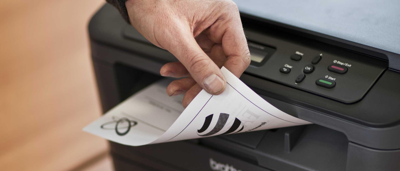 O beneficio de imprimir em frente e verso con as impressoras Brother