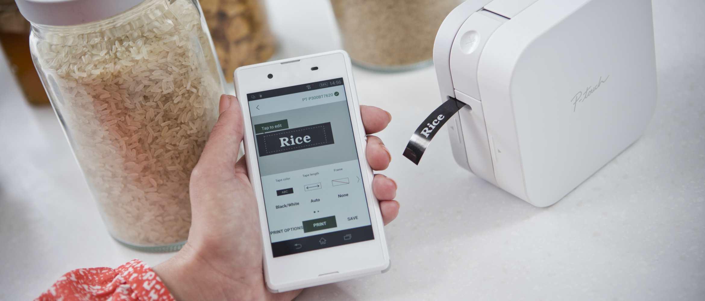 Quer imprimir etiquetas a partir do seu iPhone, iPad ou smartphone Android