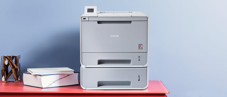 Impressora laser a cor dupla bandeja Brother