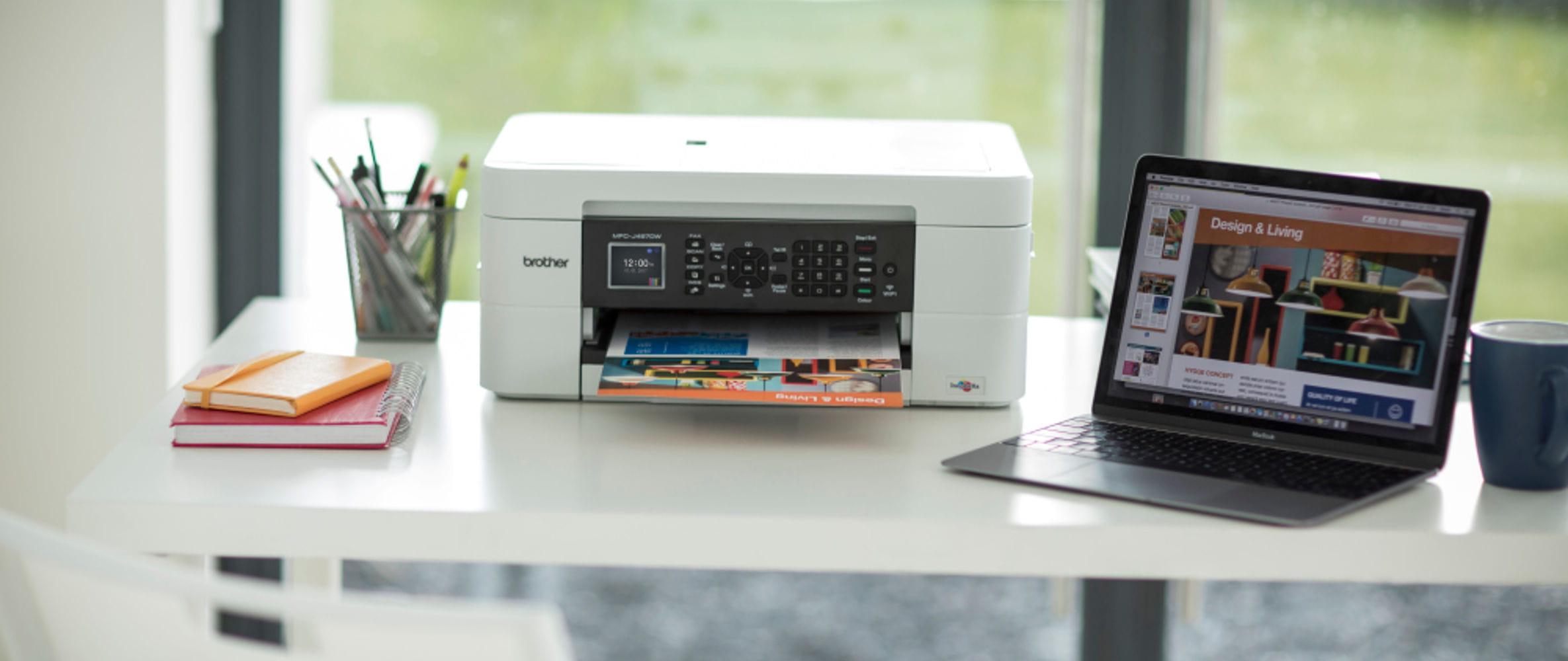 Impressora multifunções de tinta MFC-J497DW, Brother