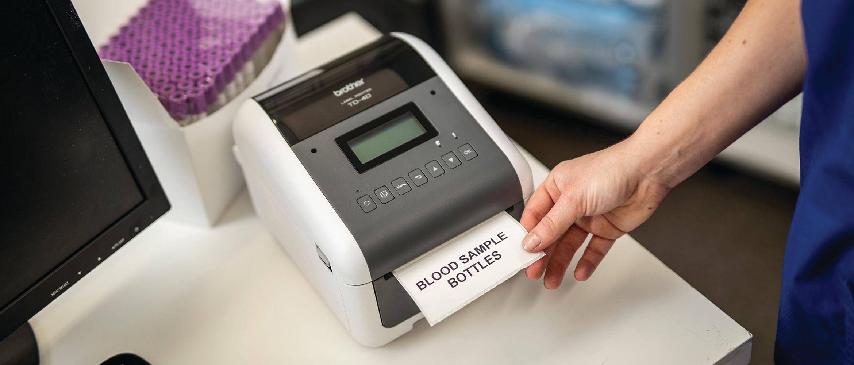 Impressora de etiquetas TD-4520TN Brother