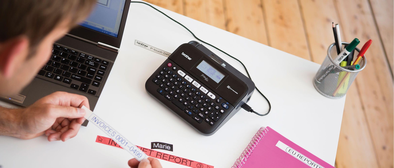 Impressora de etiquetas Brother PT-D450