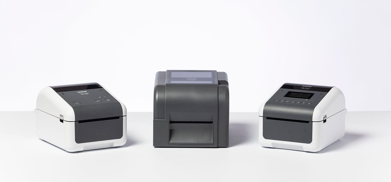 Impressoras industriais de etiquetas TJ Brother