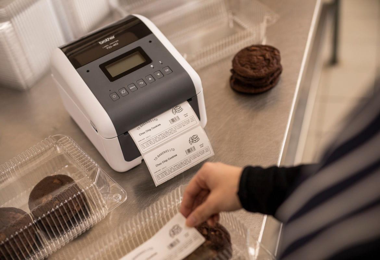 Impressoras com tecnologia térmica direta Brother