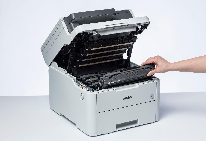 Impressora e consumíveis Brother