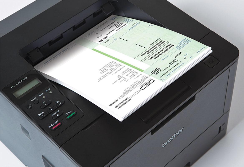 Impressão dos documentos médicos com impressoras Brother