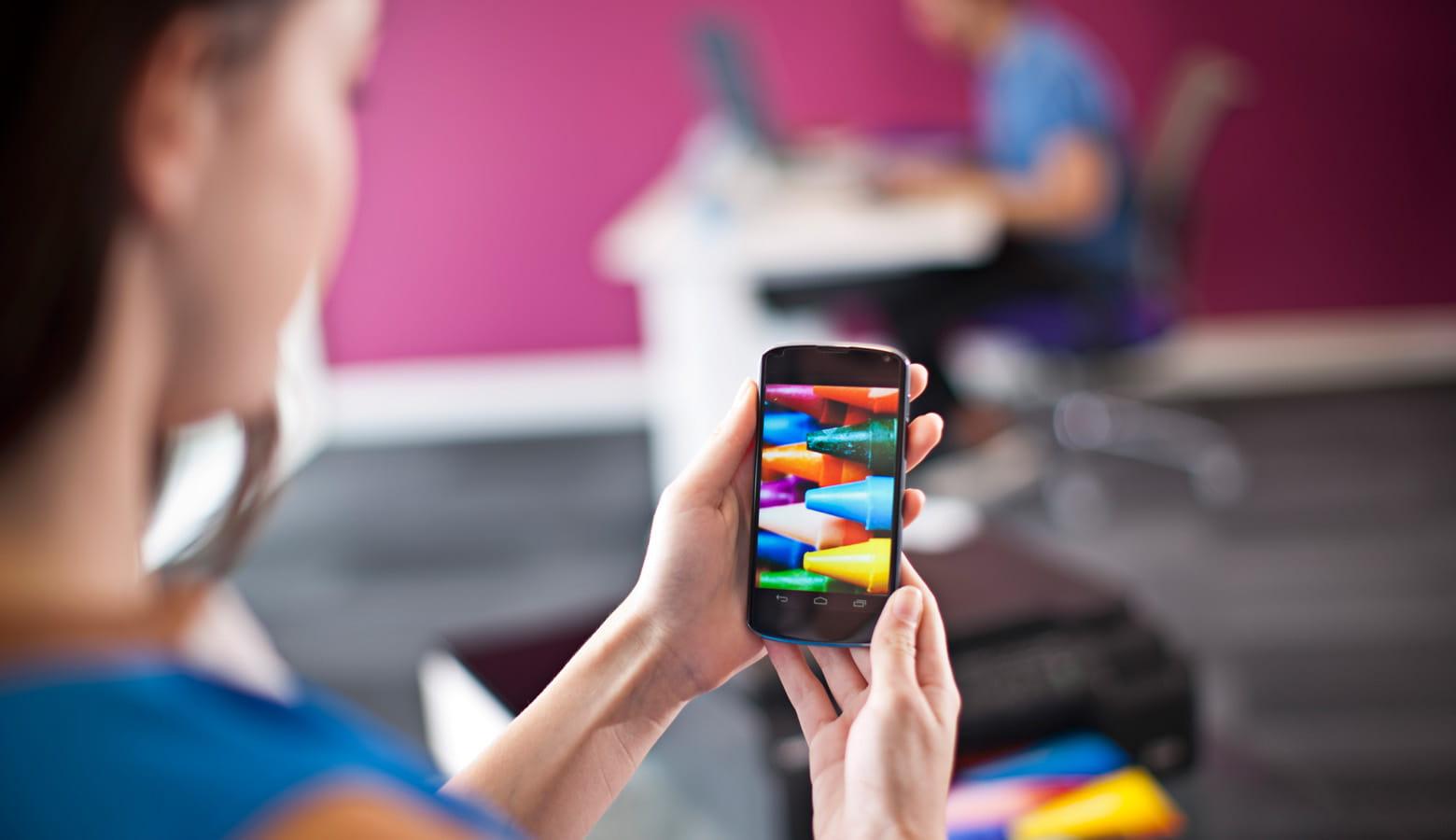 Impressão desde dispositivos móveis