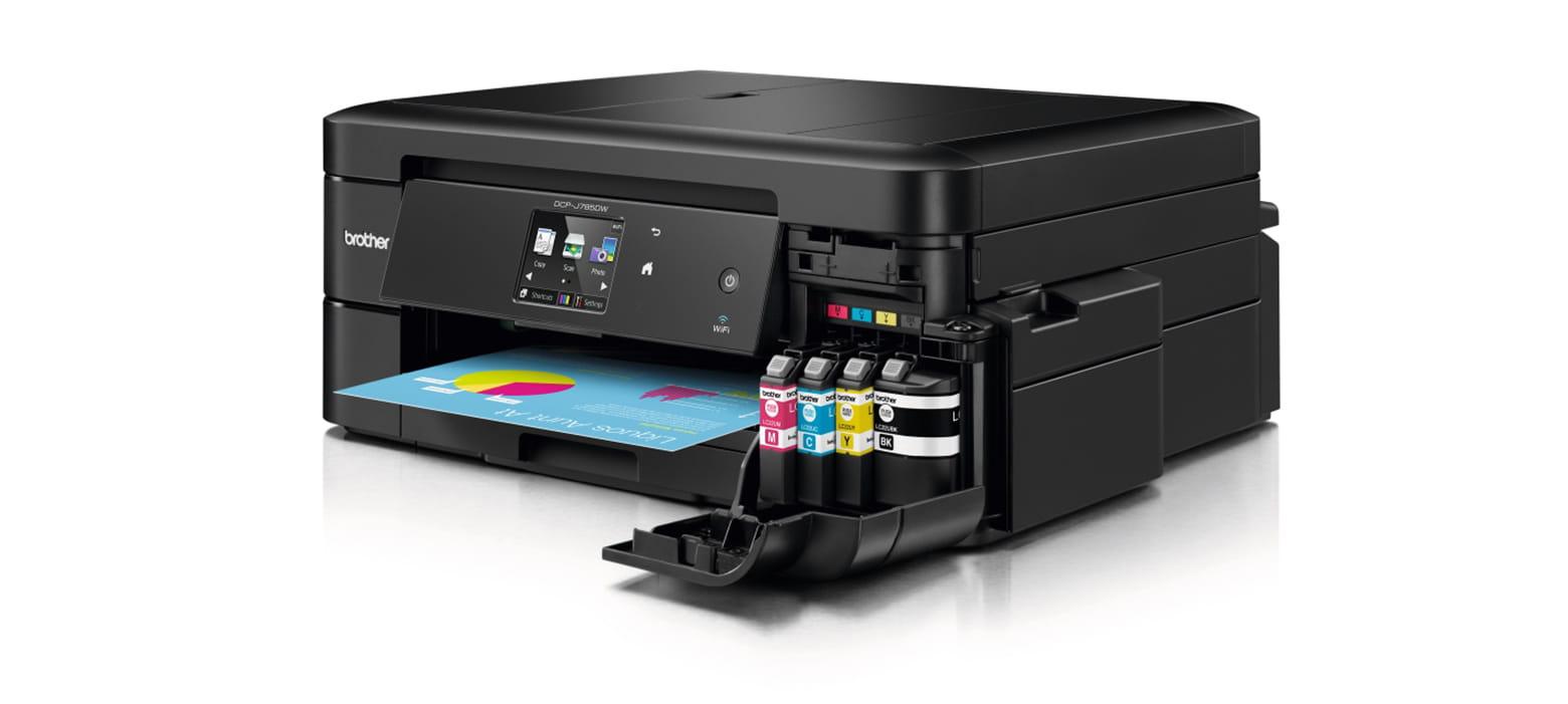 Impressora multifunções de tinta DCP-J785DW