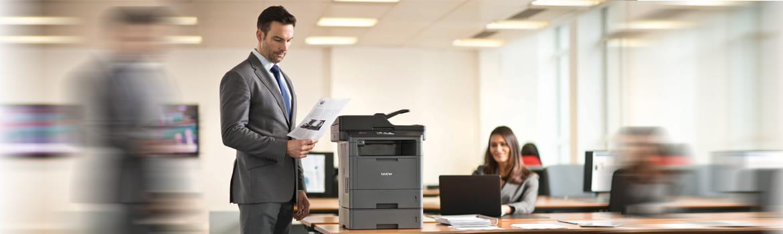 Impressoras laser monocromático série L5000, Brother