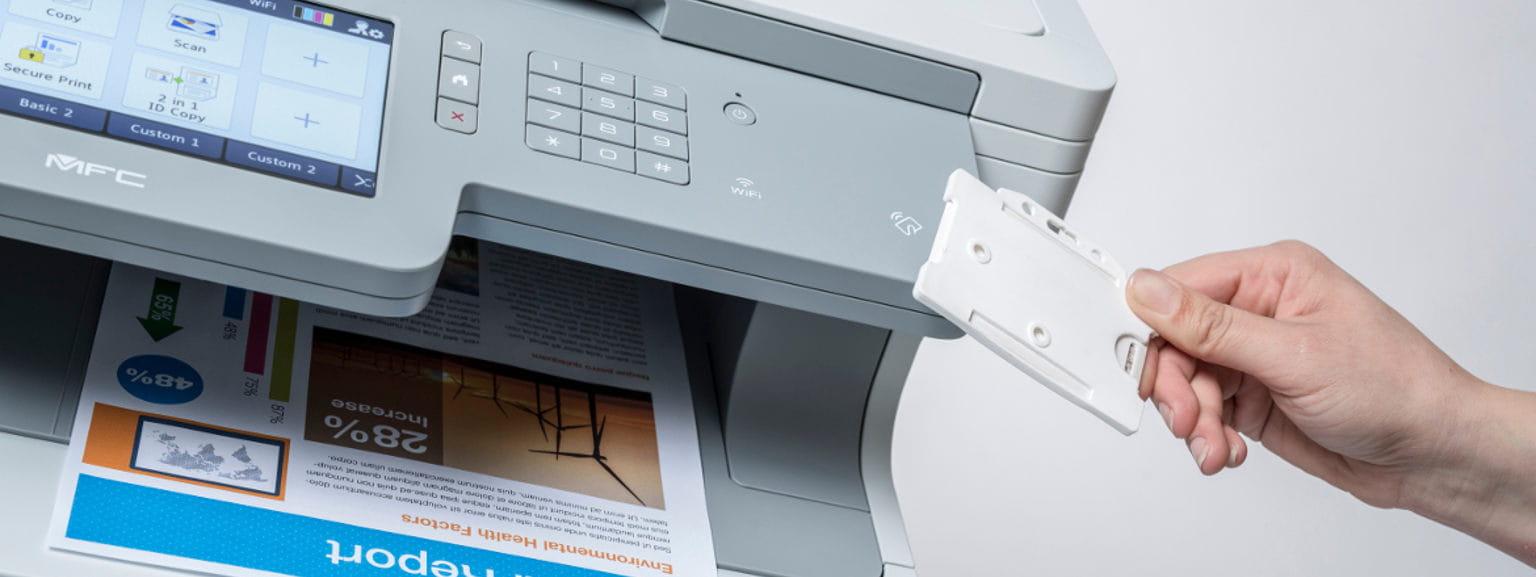 Funções de segurança em impressoras Brother