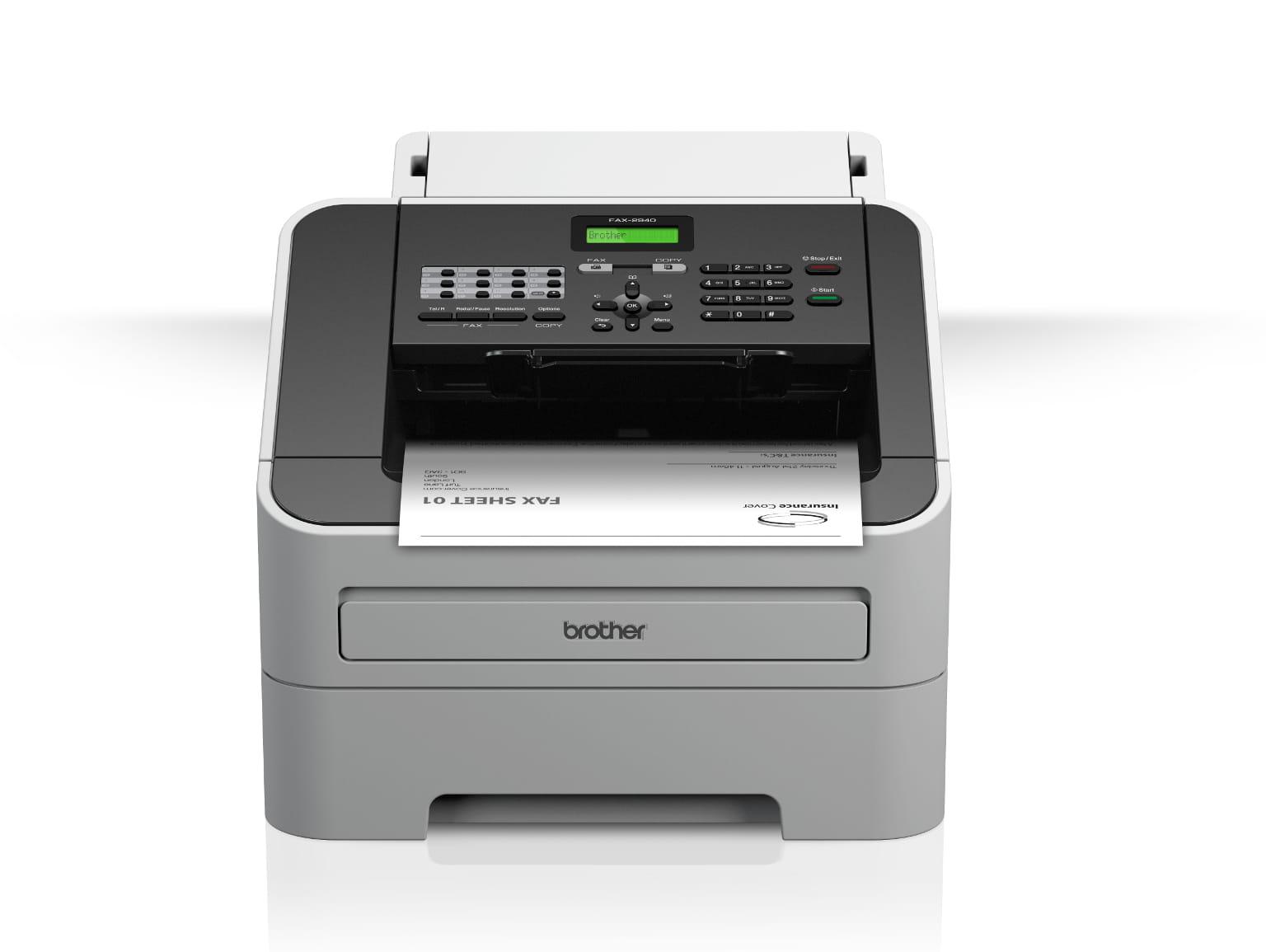 Faxes laser