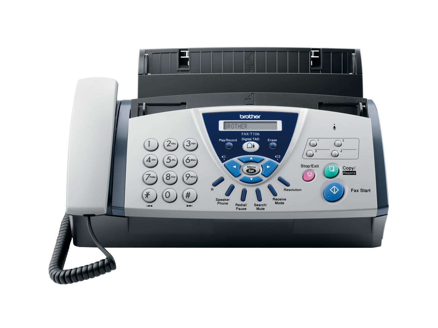 Faxes de transferência térmica