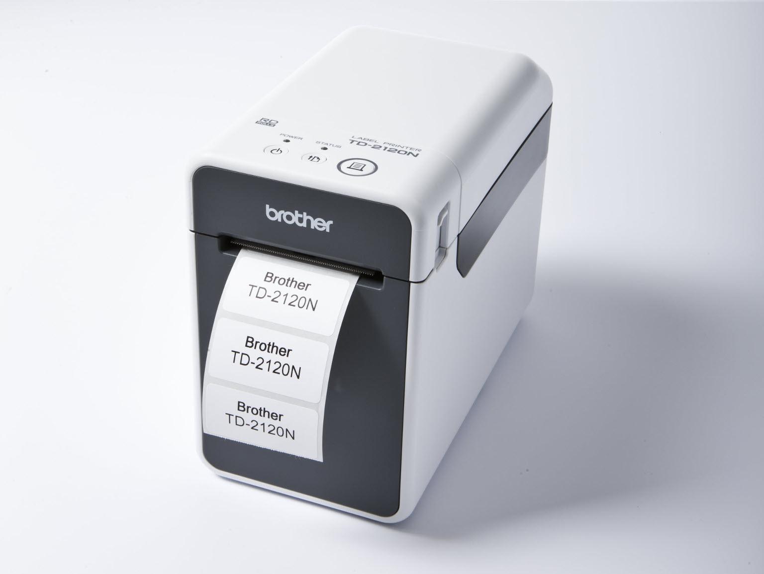 Impressoras de etiquetas Brother para uso industrial
