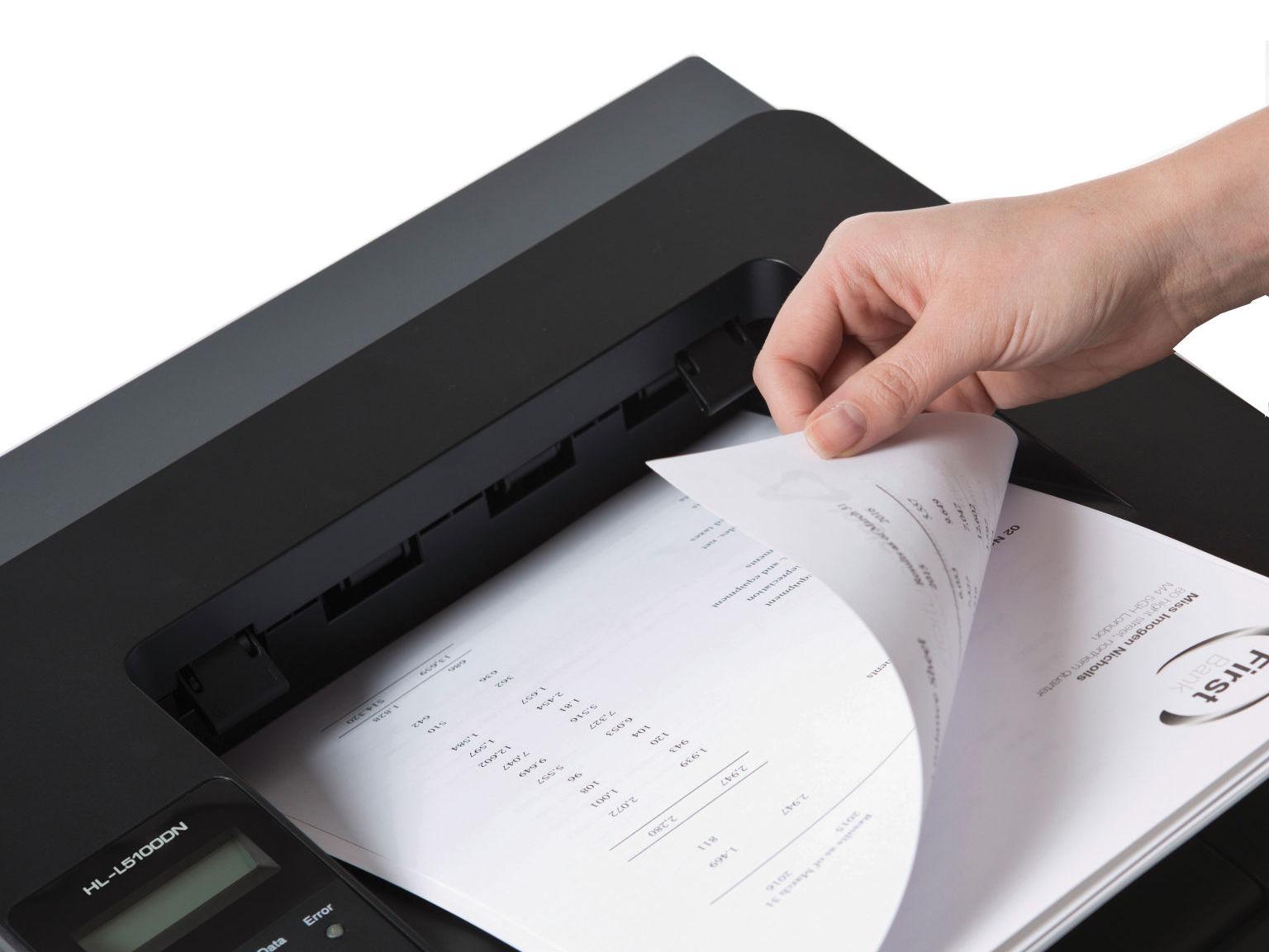 Impressoras Brother com frente e verso