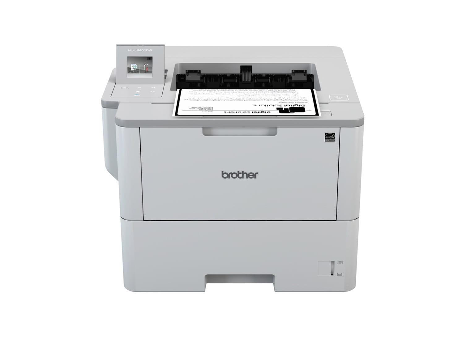 Impressoras Brother laser monocromáticas