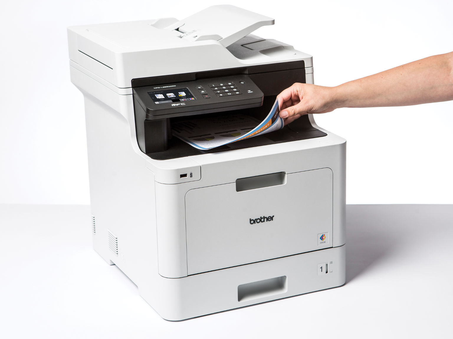 Impressora multifunções laser a cores MFC-L8690CDW, Brother