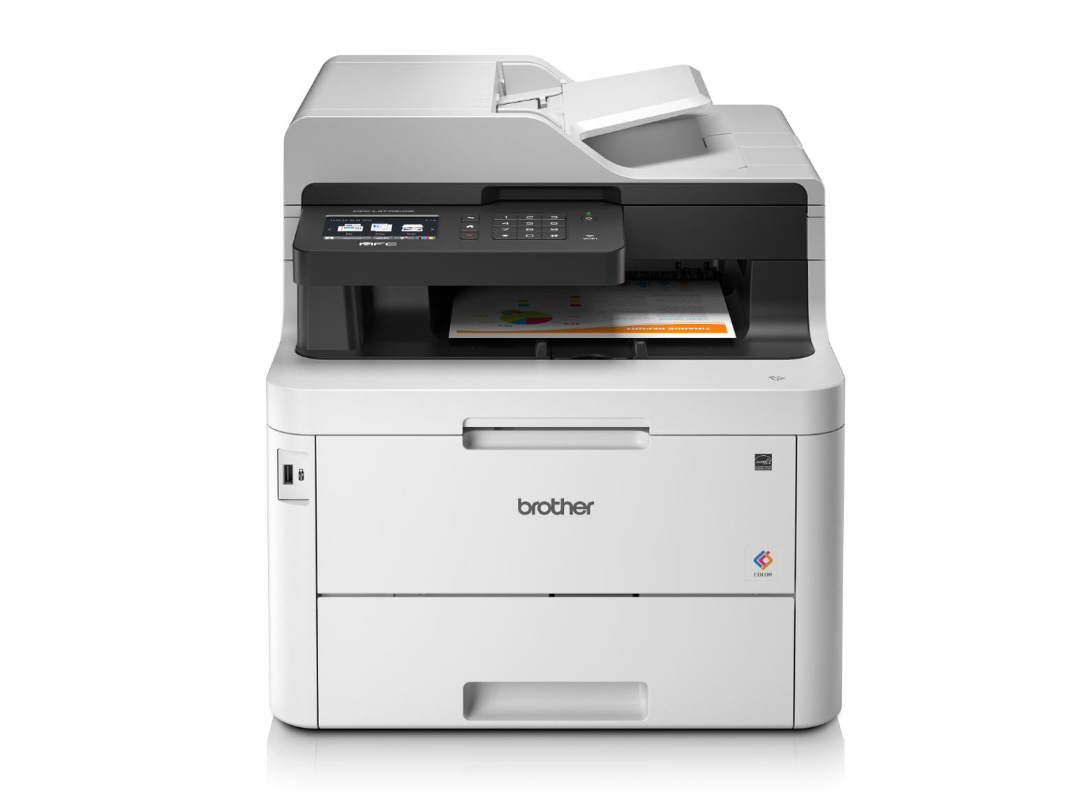 Impressora multifunções laser a cores MFC-L3770CDW, Brother