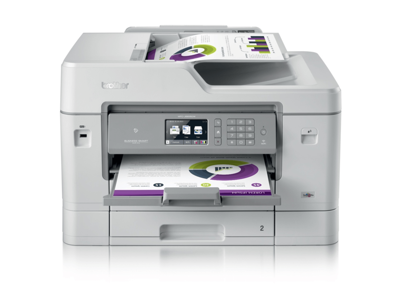 Impressora multifunções de tinta A4/A3 MFC-J6935DW