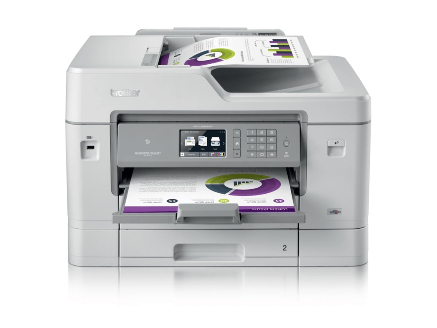 Impressoras multifunções Brother de tinta A4/A3