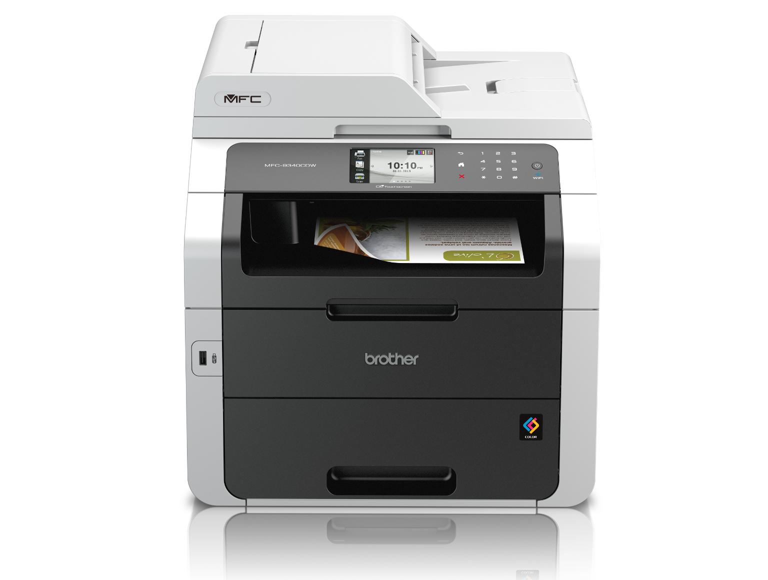 Impressoras multifunções laser a cores Brother