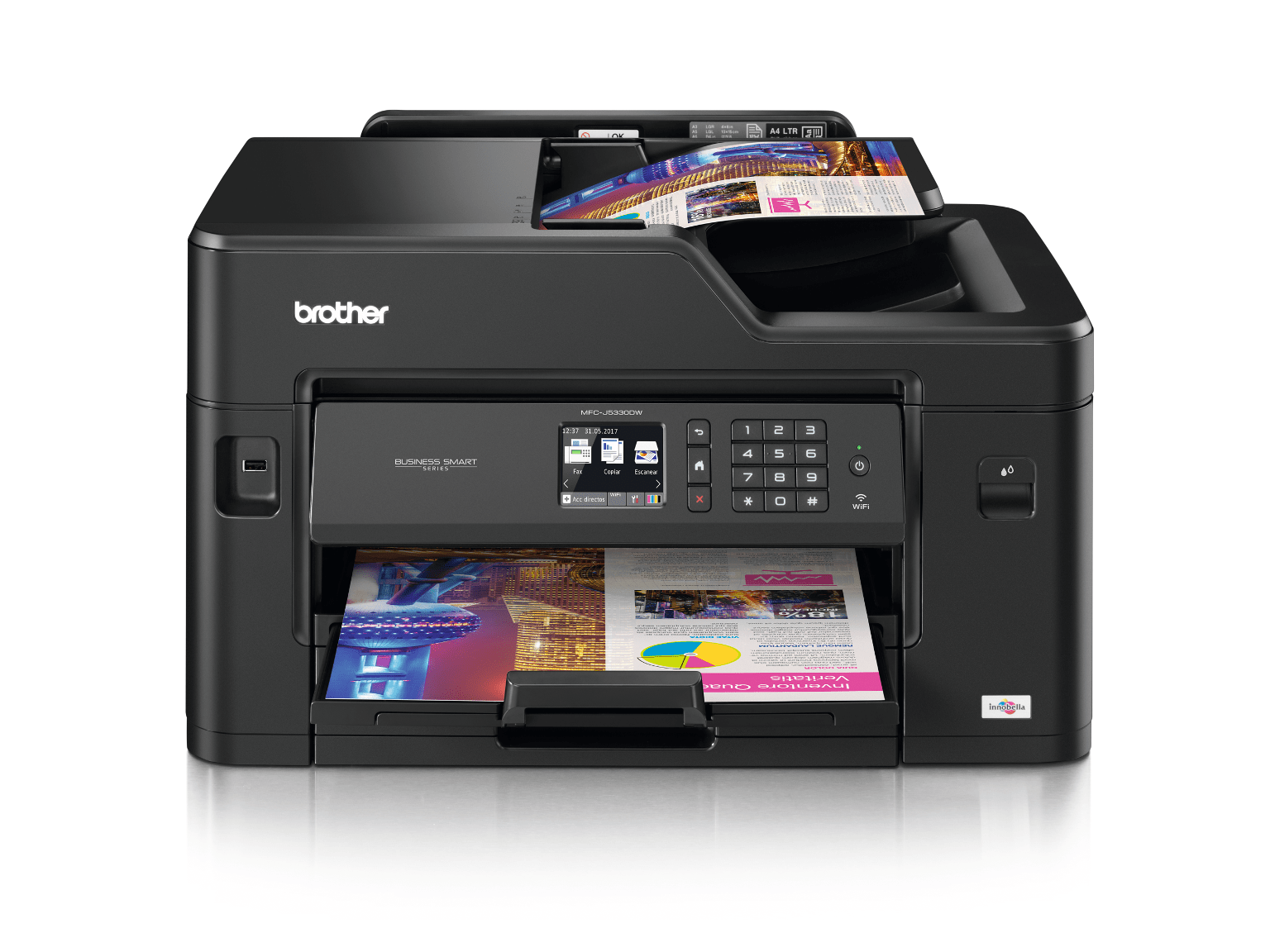 Impressora multifunções de tinta MFC-J5330DW