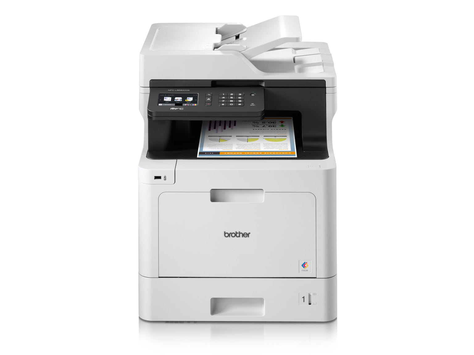 Impressora multifunções laser a cor MFC-L8690CDW Brother