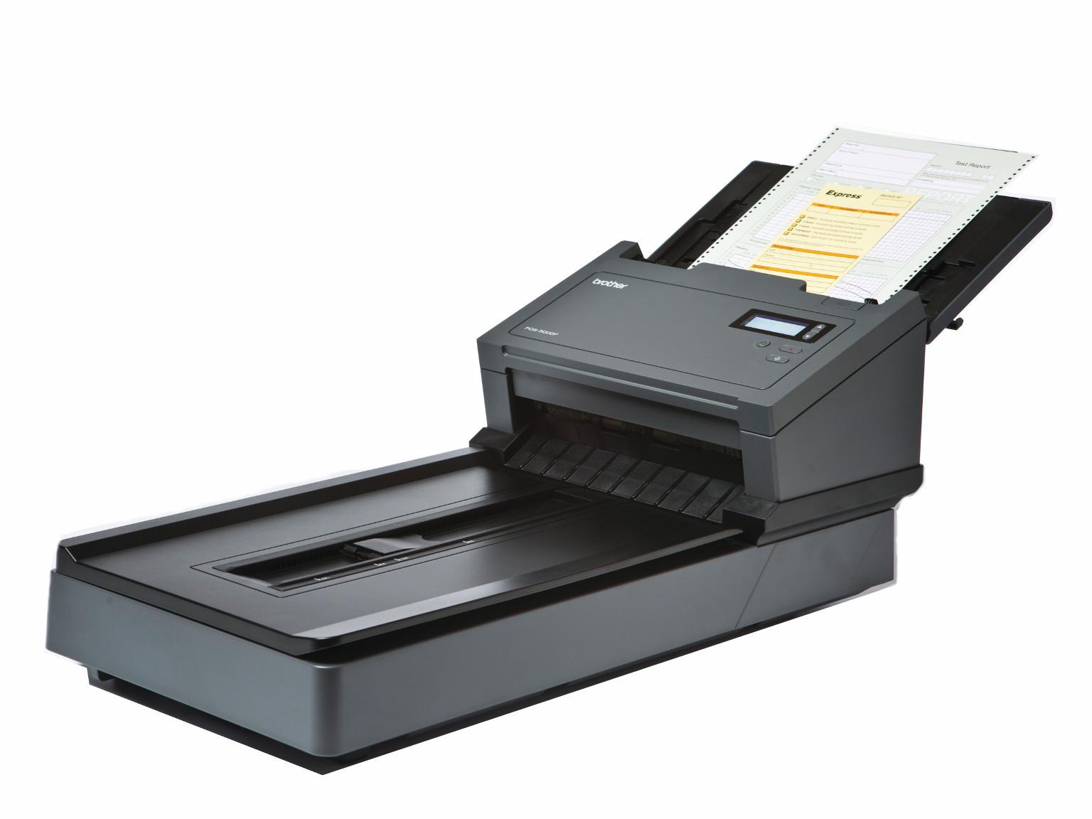 Scanners com vidro de exposição