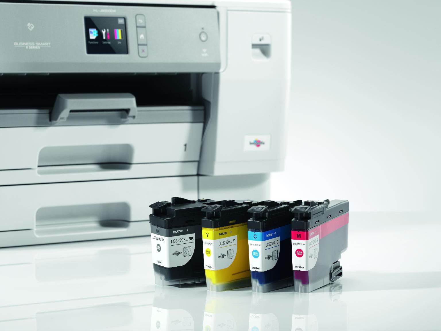 Tinteiros a cores e impressora de tinta HL-J6000DW Brother