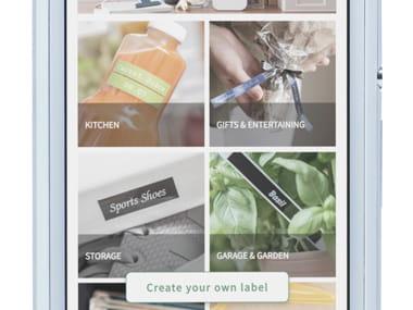 Passo 1 App Design&Print Brother