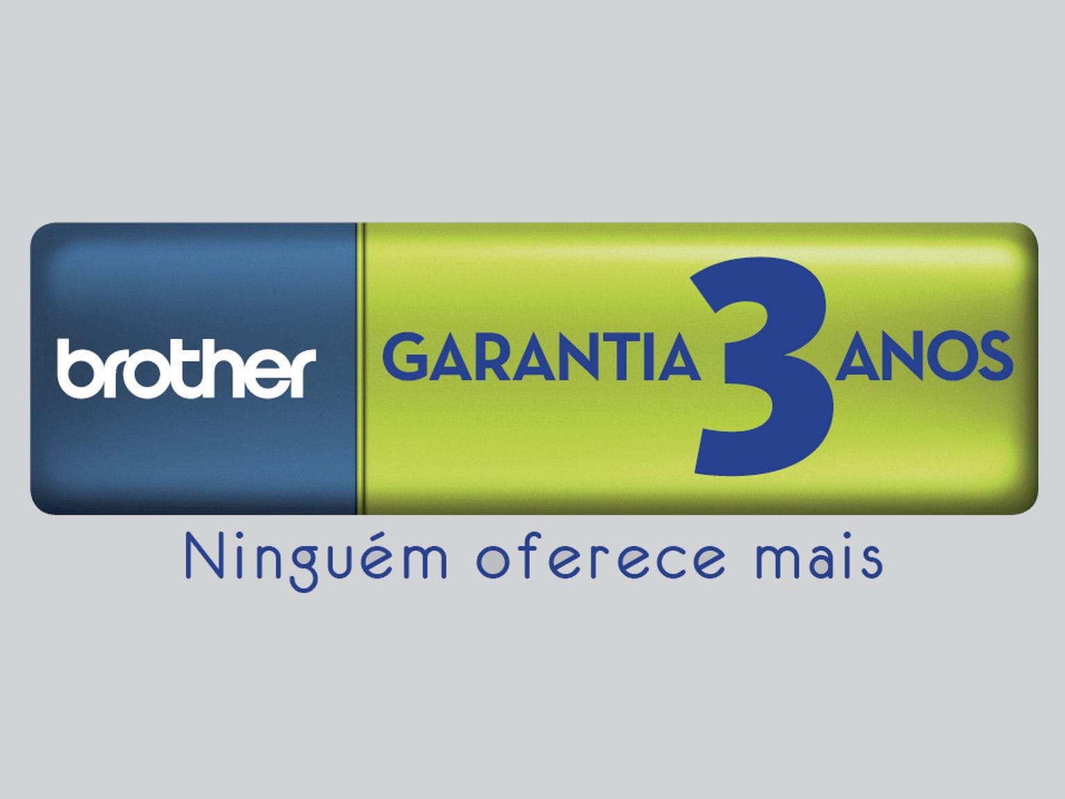 Brother Garantia 3 anos