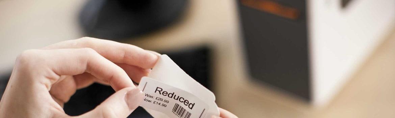 Etiquetas para preços