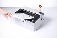 Impressora láser monocromática HL-1210 All in Box