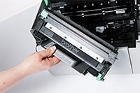 Toner para a Impressora láser monocromática HL-1210 All in Box