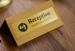 Etiquetas para o setor hoteleiro