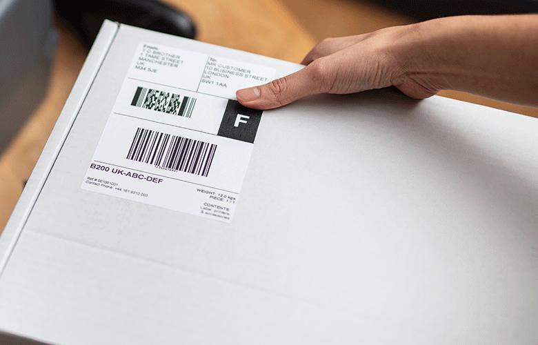 Impressoras industrias de etiquetas Brother para retalho