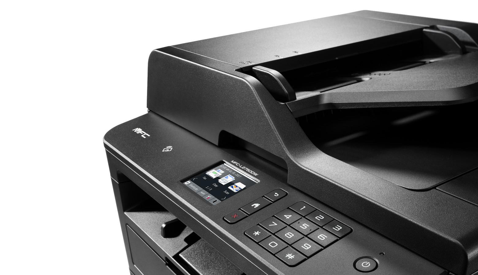 Impressora laser monocromática MFC-L2750DW, Brother