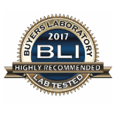Buyers Laboratory 2017 BLI. Highly Recommended Lab Tested