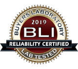 Reliability Certified. BLI 2019
