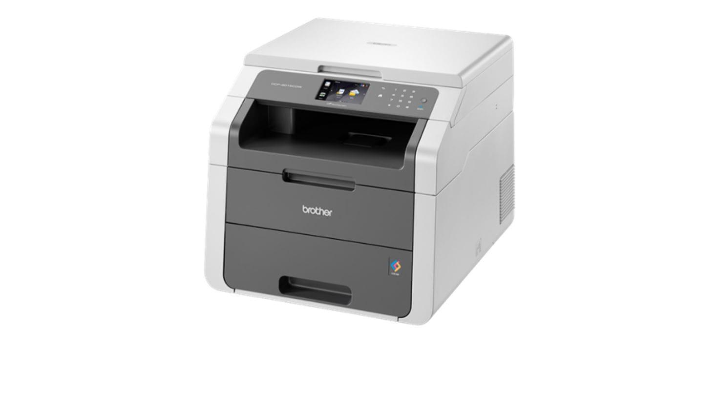 Impressora multifunções laser a cores DCP-9015CDW, Brother