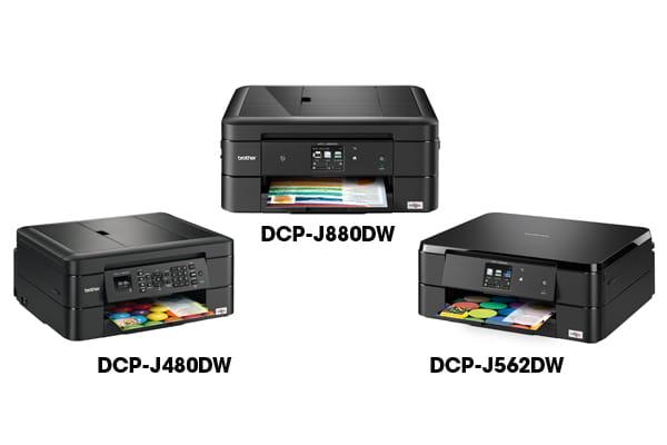 Novos multifunções de tinta A4 WiFi
