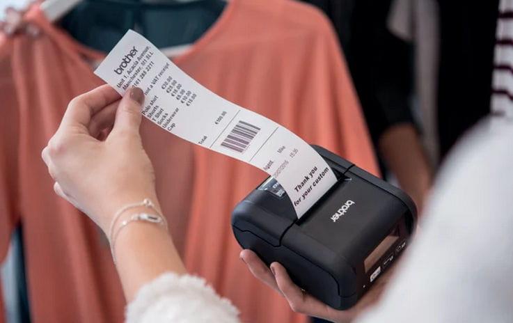 Impressora de tickets Brother