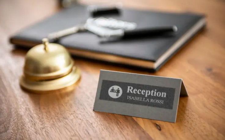Etiquetagem para o setor hoteleiro