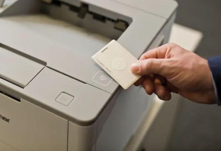 Cartão NFC para impressora Brother