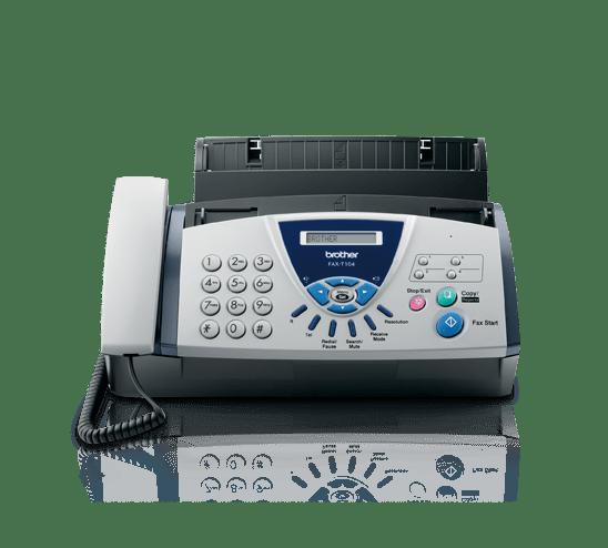 Fax de transferência térmica FAX-T104 Brother