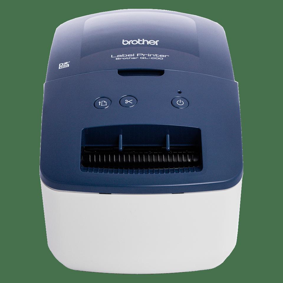 Impressora de etiquetas QL-600B Brother