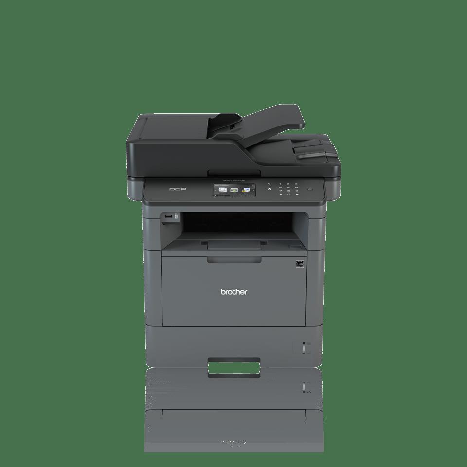 Impressora multifunções laser monocromática DCP-L5500DN, Brother