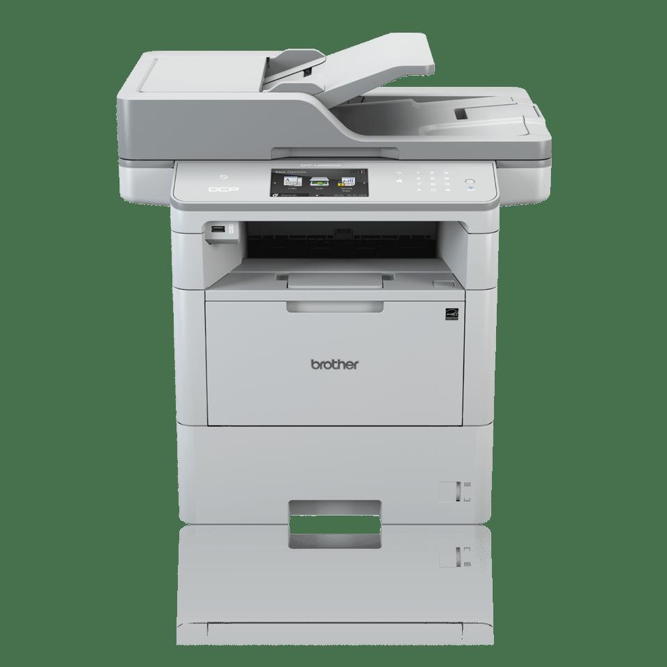 Impressora multifunções laser monocromático DCP-L6600DW, Brother