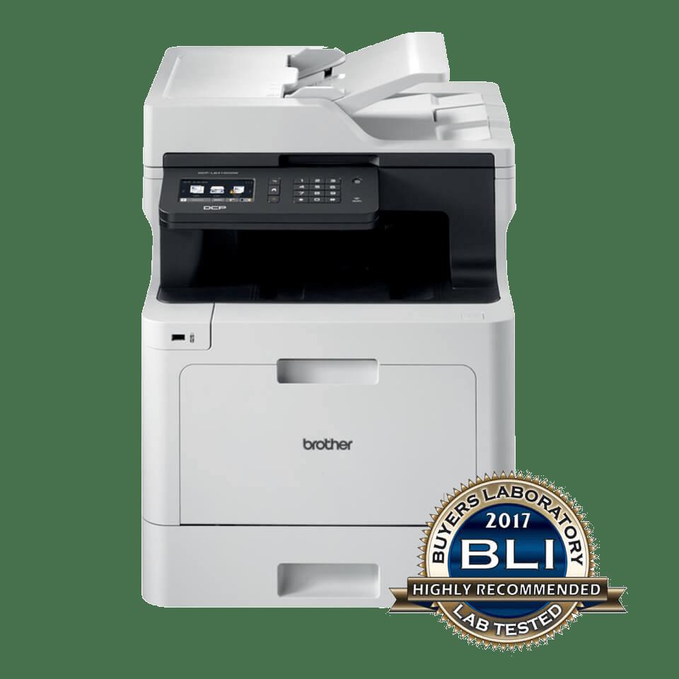 Impressora multifunções laser a cores profissional DCP-L8410CDW, Brother